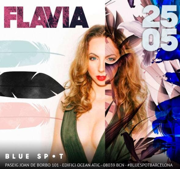 Blue Spot W Hotel Barcelona Beach DJ DeeJay Colombiana Canadian Toronto Dancer Singer Artist Female DJ Femme Mujer